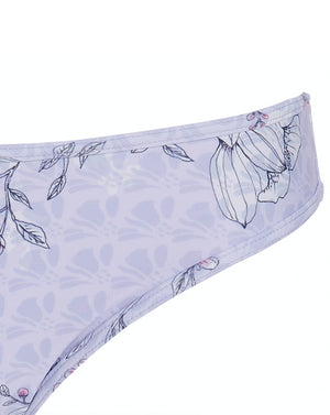 CLAUDINE LOW CUT BRIEF - BLUEBELL BOUQUET