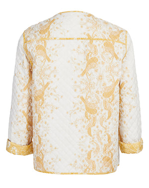 SORRENTO REVERSIBLE BIKER IN SUNFLOWER PAISLEY
