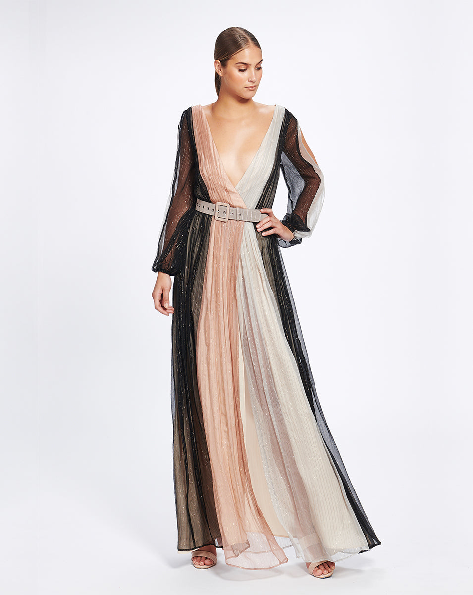 MARRAKECH MAXI DRESS IN ECLIPSE