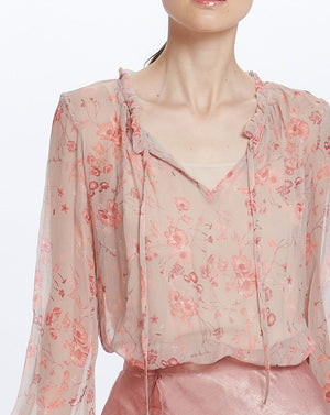 LORELAI BLOUSE - DUSTY BLOSSOM