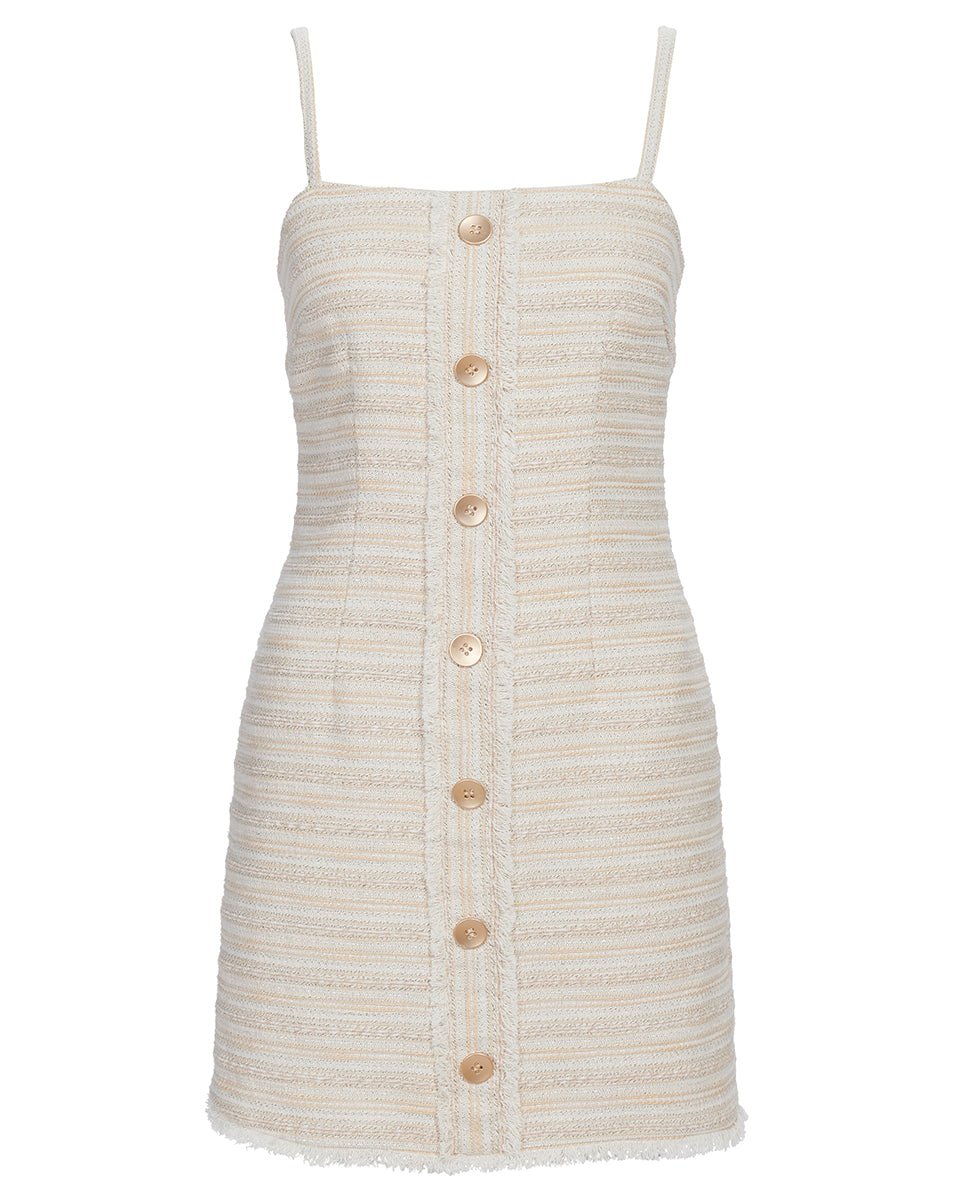 FLORENCE MINI DRESS IN NATURAL