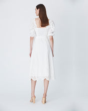 LOLA OFF SHOULDER DRESS IN IVORY
