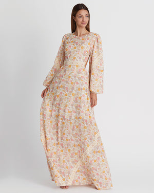 PIA CUT OUT MAXI IN DAISY