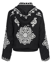 POSITANO JACKET IN NOIR FILIGREE