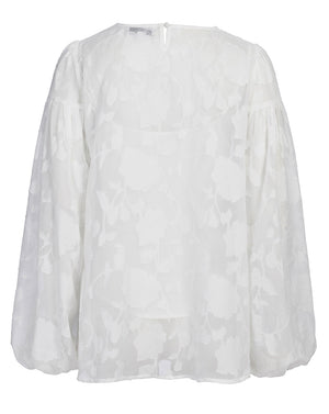 SICILY BLOUSE IN IVORY