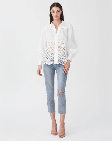 LUA BLOUSE IN WHITE
