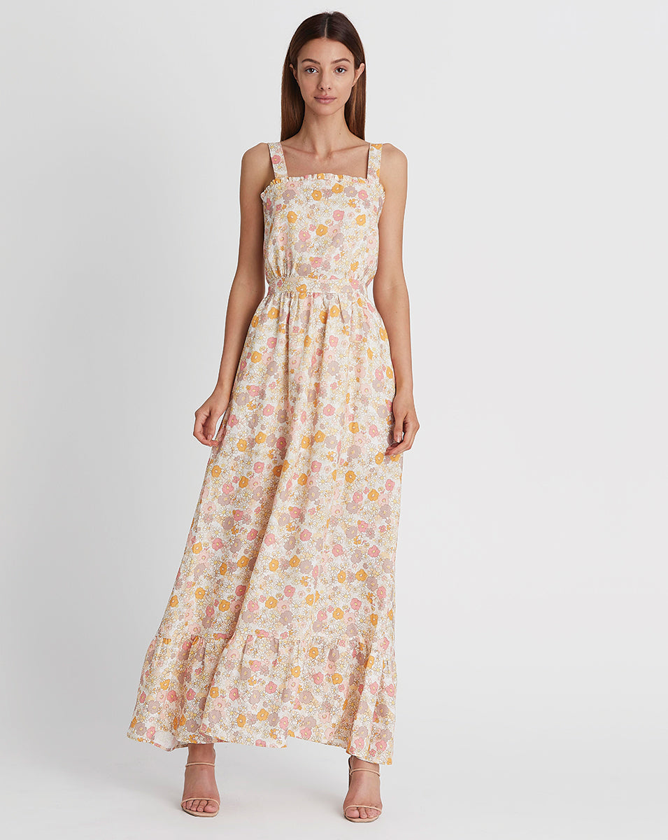 MARLY MAXI DRESS IN DAISY