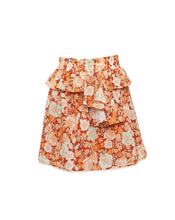 PIA MINI SKIRT IN BURNT ORANGE