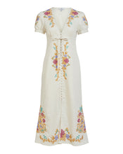 AURELIA BUTTON THROUGH DRESS IN ABUNDENCE EMBROIDERY