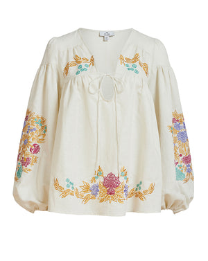 AURELIA BLOUSE IN ABUNDENCE EMBROIDERY