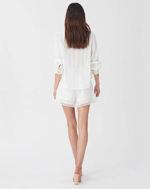 BRONTE LOOSE SHIRT IN WHITE