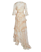 CELESTIA MAXI DRESS IN WHITE PAISLEY