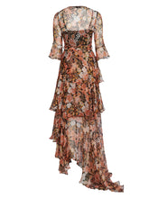 CELESTIA MAXI DRESS IN VINTAGE FLORAL