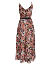 CLEO BOW BACK DRESS IN VINTAGE FLORAL