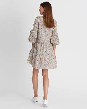 KINDRED HOLIDAY | MINI DRESS IN WHITE FLORAL
