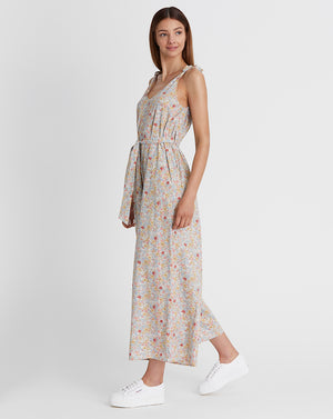 KINDRED HOLIDAY | JUMPSUIT IN WHITE FLORAL