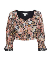 JESSA CROP TOP IN VINTAGE FLORAL