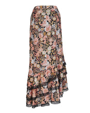 JESSA RUFFLE SKIRT IN VINTAGE FLORAL