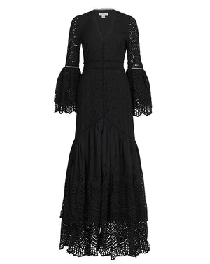 LUA GOWN IN BLACK