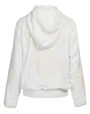 POSITANO JACKET IN IVORY FILIGREE