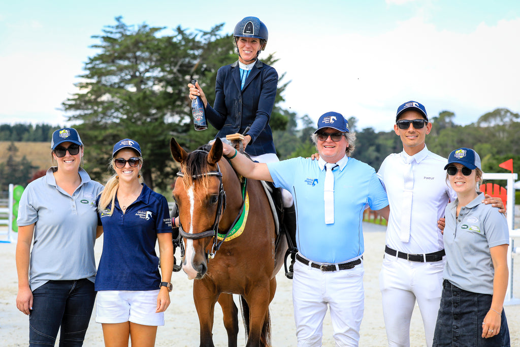 Accomplished Horsewoman Takes Opening GAT Round at Takapoto