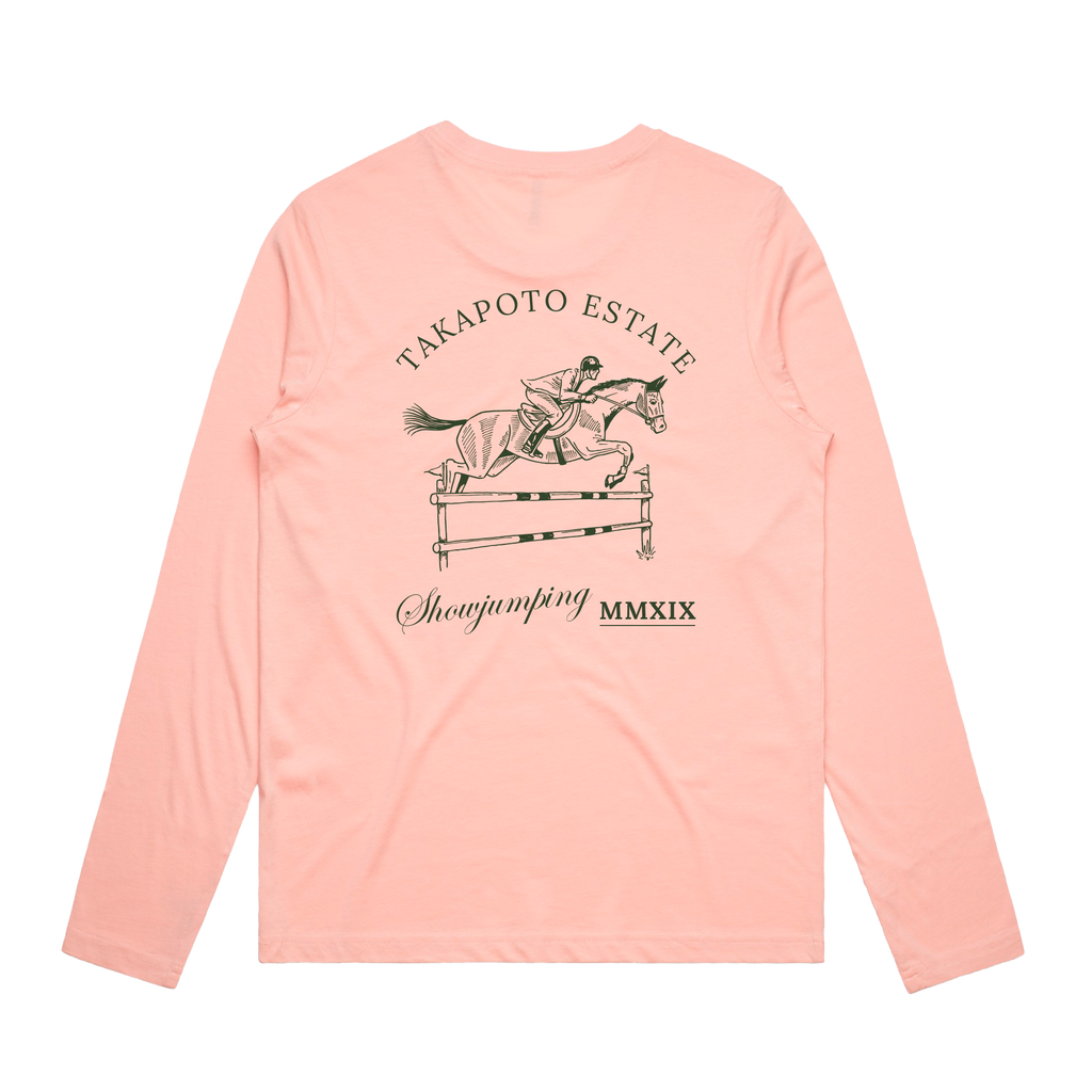 Woman's Long Sleeve Tee | Pink
