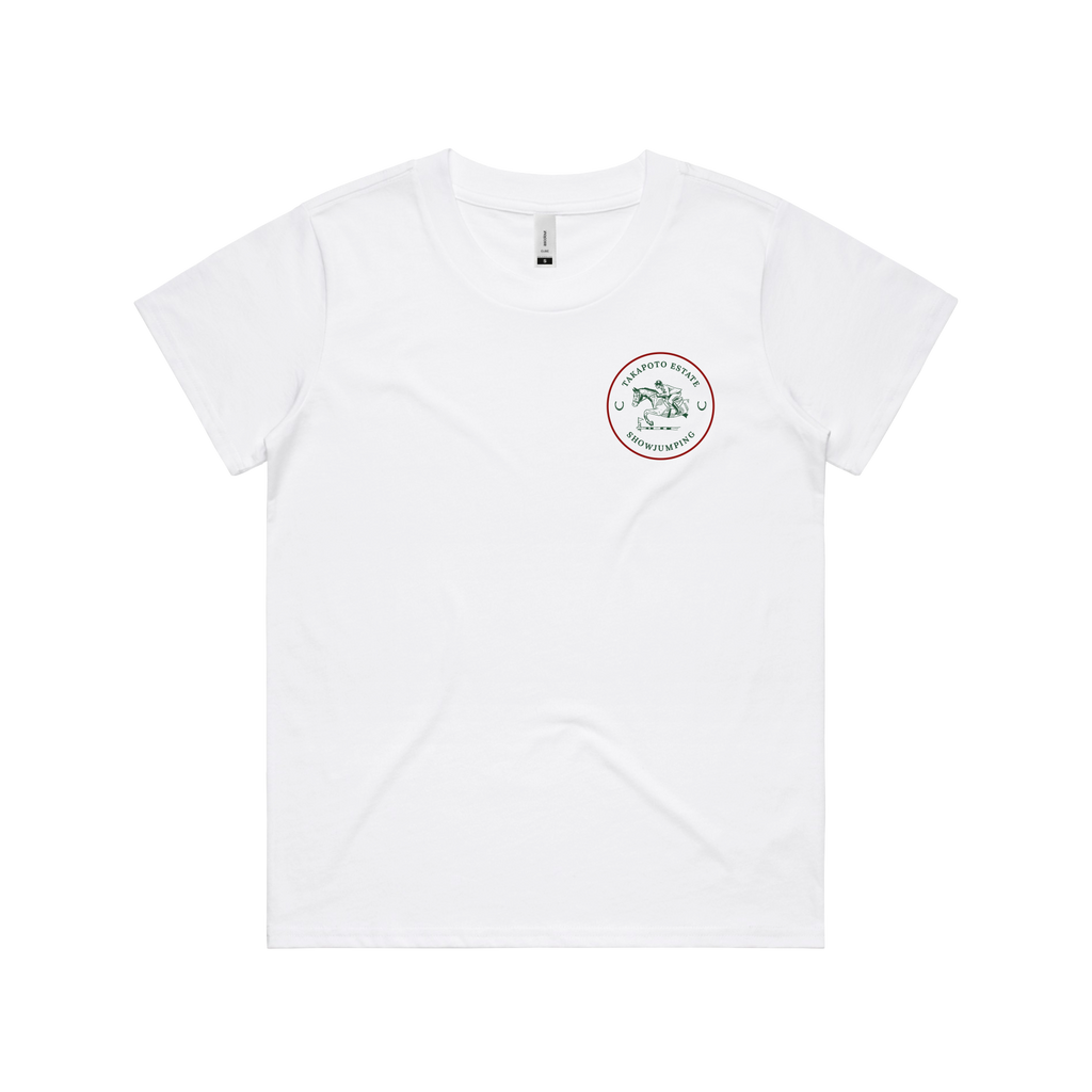 Woman's Tee | White & Green