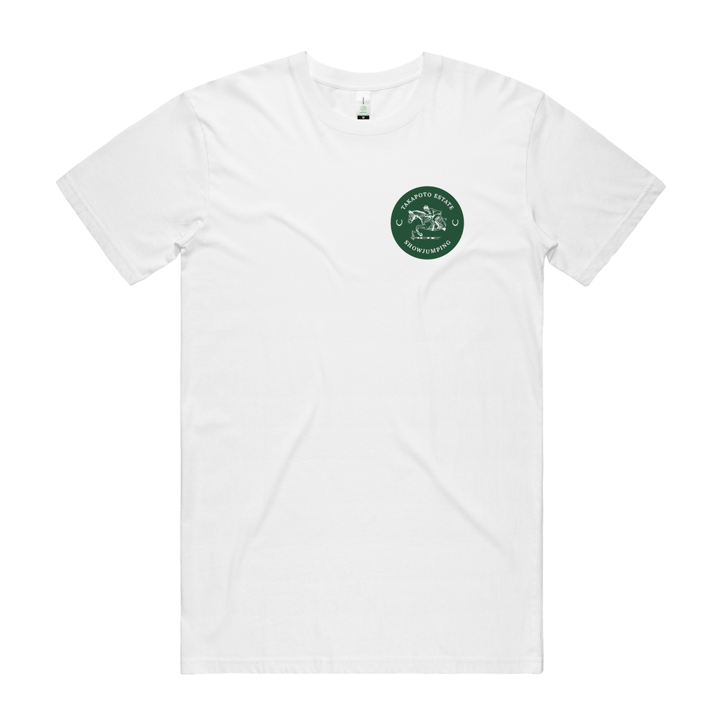 Youth Tee | White & Green
