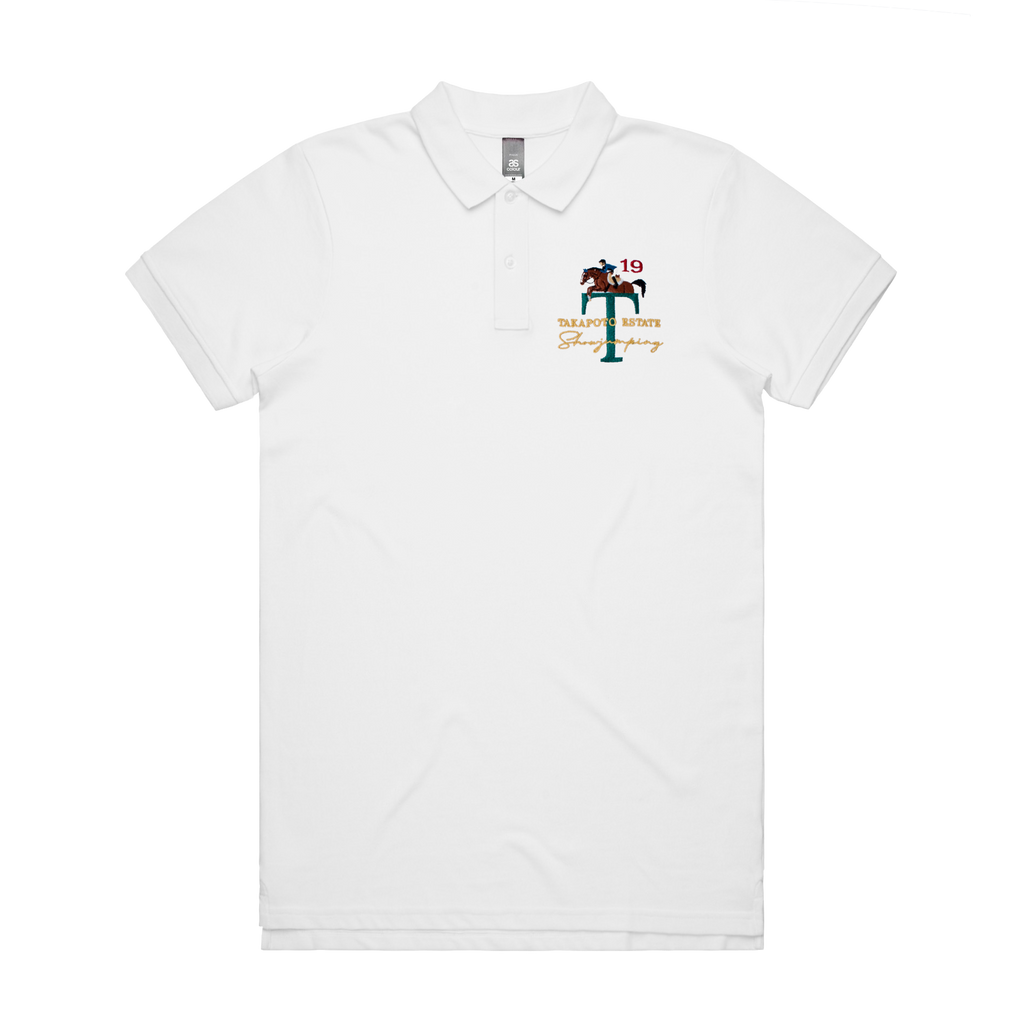 Men's Polo | White