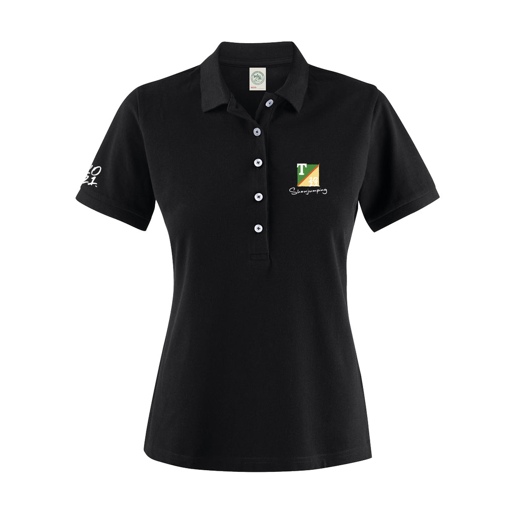 Woman's Polo | Black