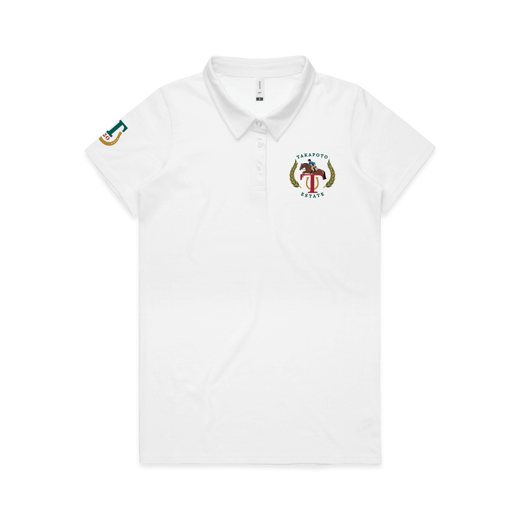 Woman's Polo | White