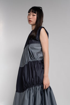 Quarter denim dress