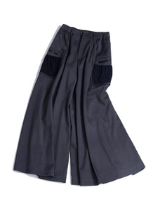 Archery multi pockets flare pants