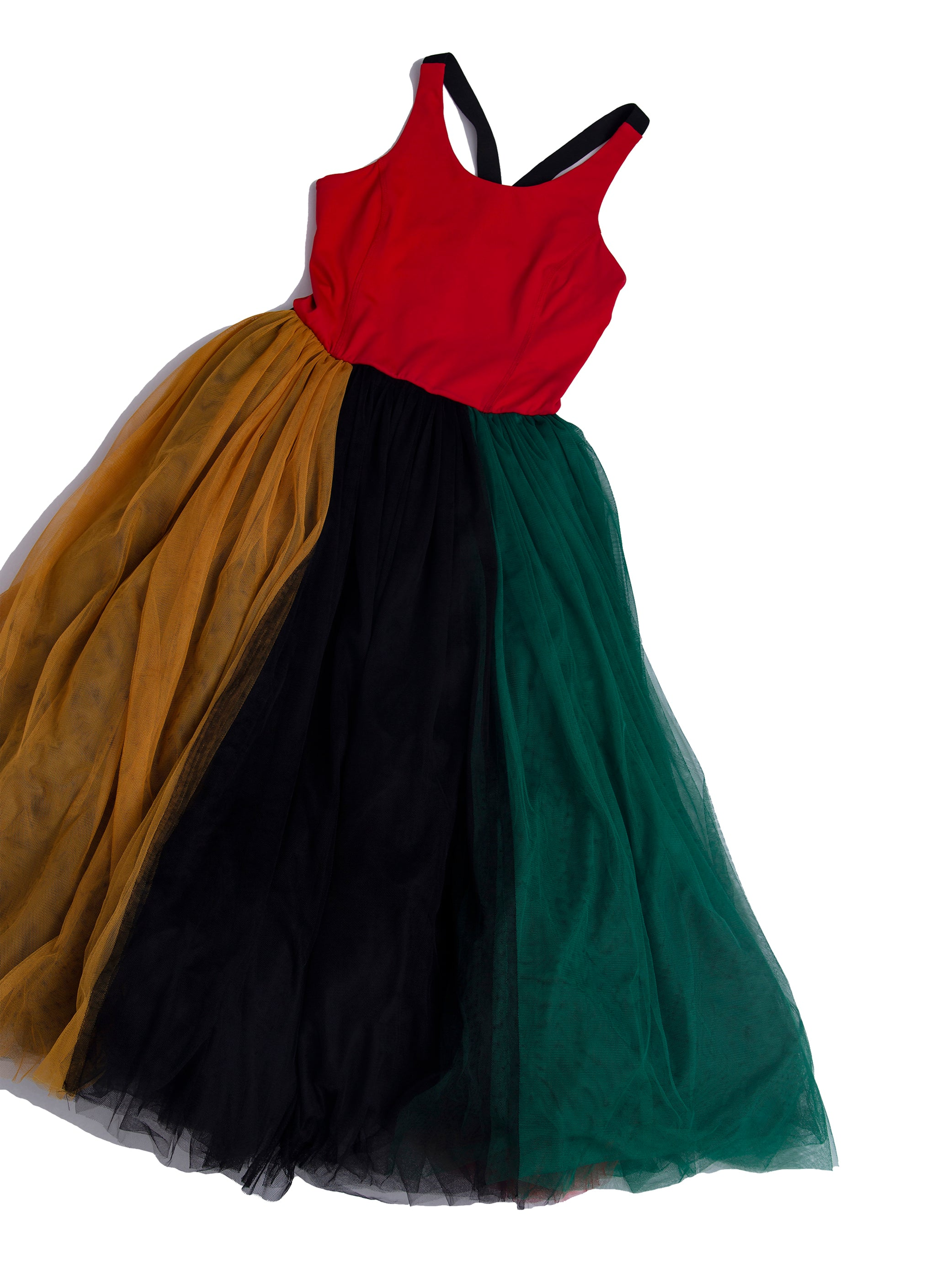 Runner tulle dress