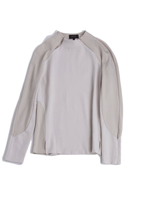 Turtle neck cycling top