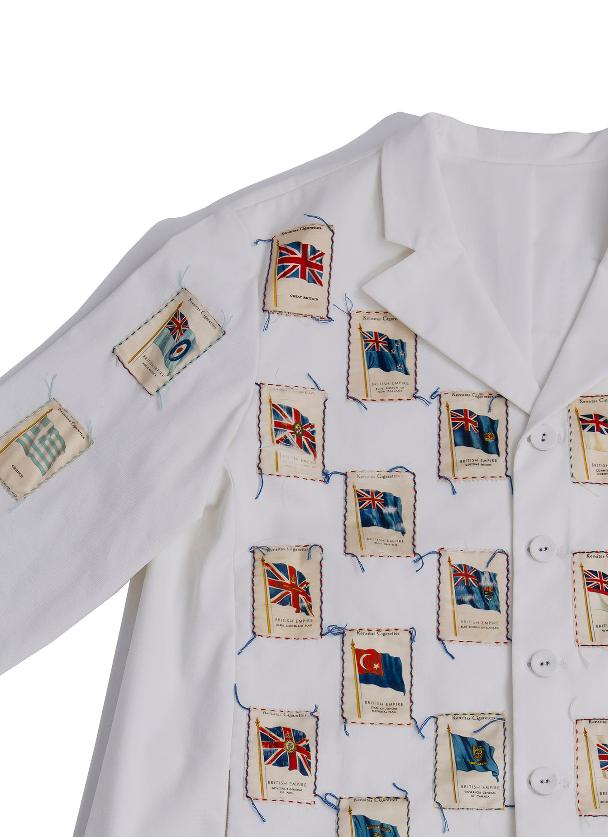 National flags jacket (Show piece)