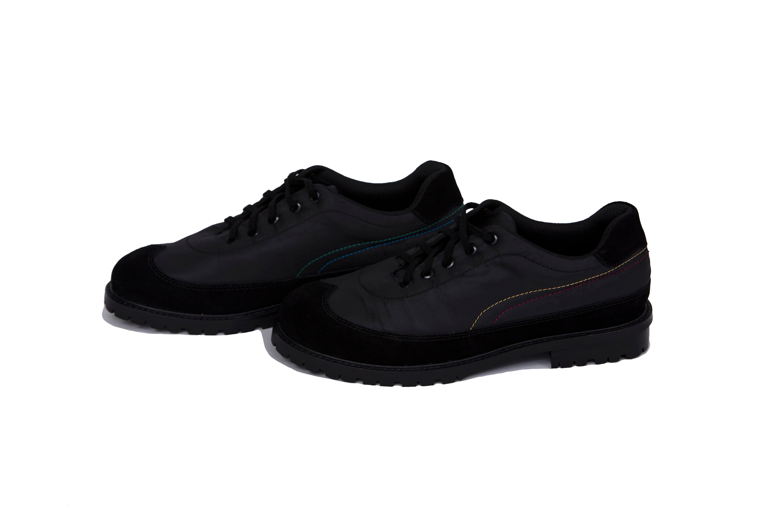 Athlete leather shoes