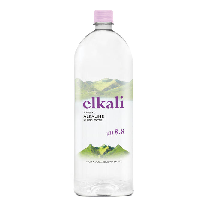 elkali Natural Alkaline Spring Water | 1250ml