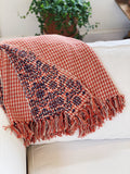 Hand-Stamped Ashika Throw
