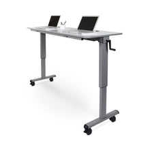 "Load image into Gallery viewer, 72"" Crank Handle Flip Top Standing Desk"