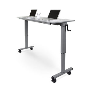 "72"" Crank Handle Flip Top Standing Desk"