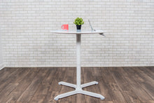 "Load image into Gallery viewer, ROUND CAFÉ TABLE-32"" PNEUMATIC HEIGHT ADJUSTABLE"