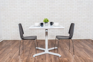 "SQUARE CAFÉ TABLE-32"" PNEUMATIC HEIGHT ADJUSTABLE"