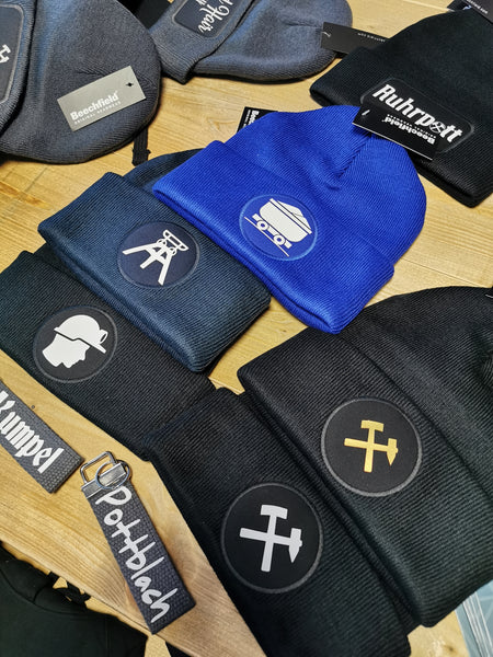 Beanies - runder Patch