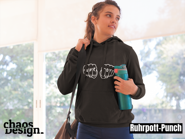 "Lady's Hoodie ""Ruhrpott-Punch"""