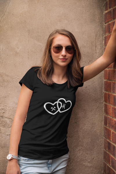 "Lady's T-Shirt ""Pütt in Love"""