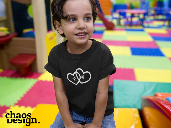 "Kid's T-Shirt ""Pütt in Love"""
