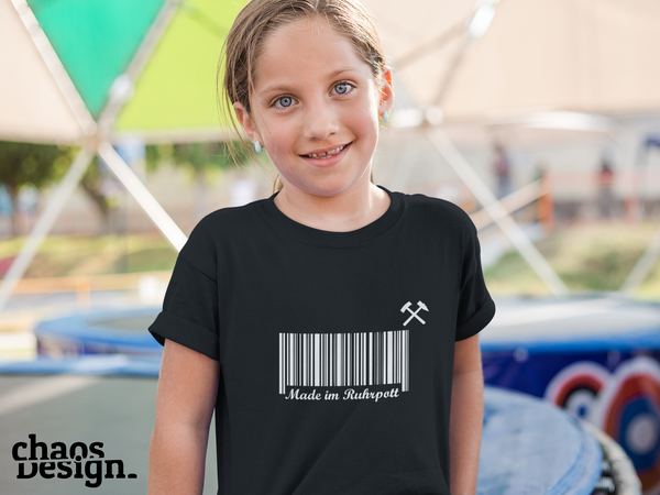 "Kid's T-Shirt ""Made im Ruhrpott"""