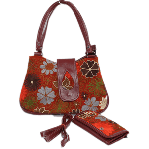 Guatemalan Handmade Embroidered Patterns Zipper Bag & Wallet - Guatemalan Fashion guatemala dress guatemalan traje women fashion men fashion leathe handbags huipil handbag summer fashion