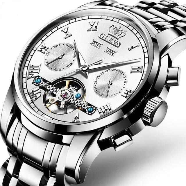 Automatic Mechanical Men Watch Waterproof